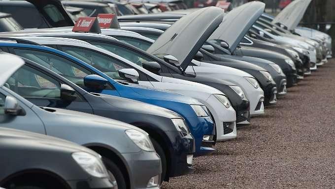 Deutsche kaufen weniger Diesel
