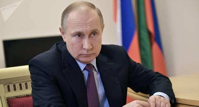 Putin: usar fuerza militar al margen de la ONU favorece al terrorismo