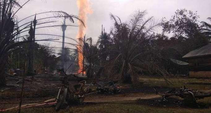 Asciende el número de muertos por un incendio en Indonesia