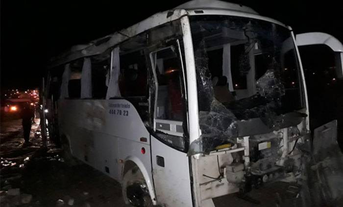 Türkiyədə avtobus qəzası - 30 yaralı
