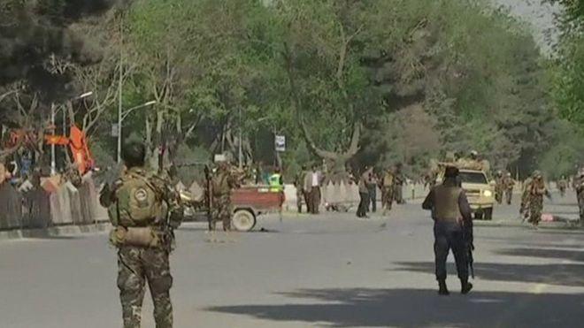 Kabul bombings: Photographer Shah Marai among 21 dead