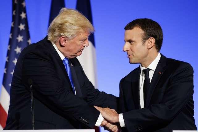 Macron va offrir à Trump un jeune chêne pour la Maison-Blanche