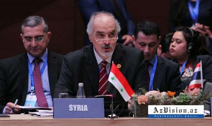 Suriyalı diplomat terrorçuların Qarabağa köçürülməsindən danışdı