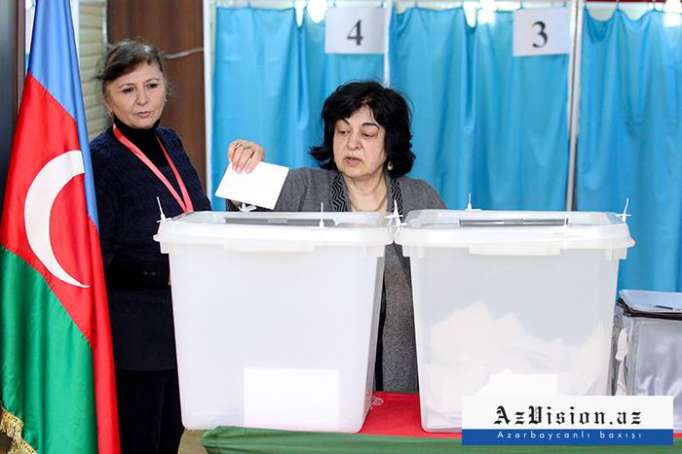 Azerbaijan reveals voter turnout in presidential elections as of 10:00