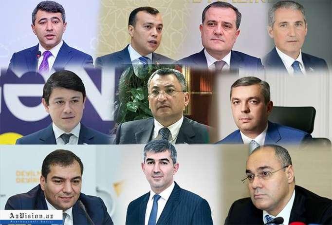 Prezident onlara etimad göstərdi - Nazirlər Kabinetinin yeni üzvləri