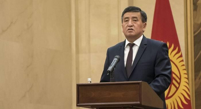 """""""Xalq İlham Əliyevin kursuna tam inanır"""" - Qırğızıstan prezidenti"""