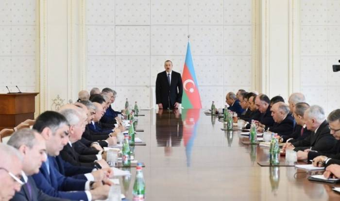 Azerbaijani president: First quarter of 2018 was successful