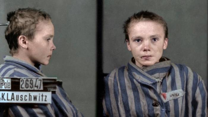 Faces of Auschwitz: Hitler's horrors in color- PHOTOS