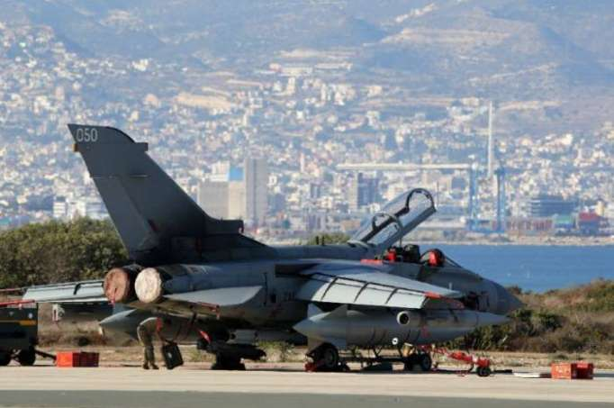 Protesters demand closure of UK airbase in Greek Cyprus