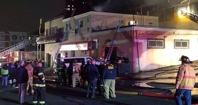 Fire breaks out in Turkish restaurant in New Jersey
