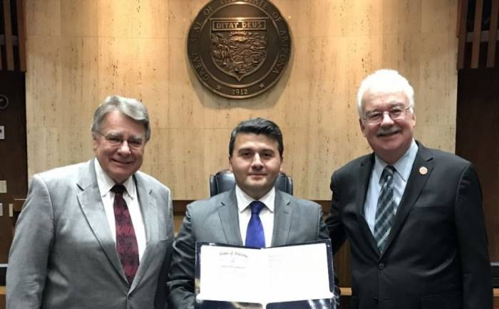 Arizona Senate adopts proclamation expressing firm support for Azerbaijan's territorial integrity