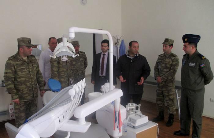 Ombudsman nümayəndələri Hərbi Hava Qüvvələrini yoxlayıb
