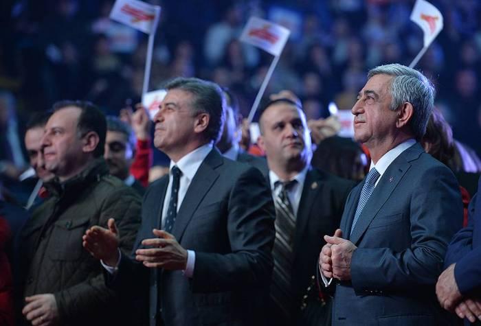 Karapetyan Sarkisyanın birinci müavini oldu