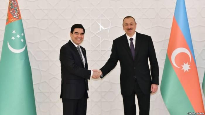 رئيس تركمانستان يهنئ الهام علييف بفوزه فى الانتخابات الرئاسية