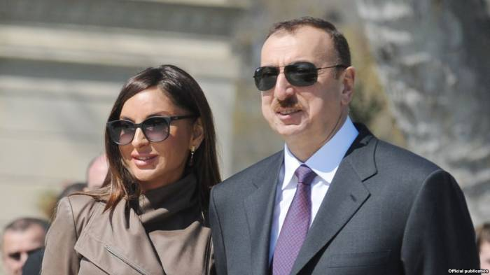 Azerbaijani President, first lady attend opening of residential complex for refugees, IDPs in Sumgait