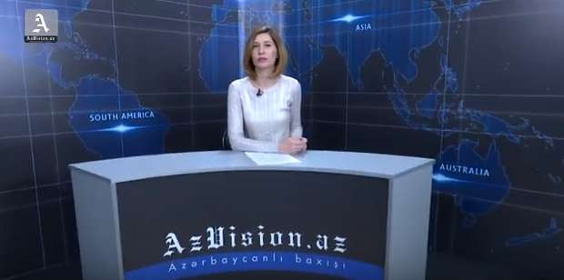 AzVision TV releases new edition of news in English for April 16-VIDEO