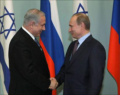 Putin and Netanyahu speak by phone on Syria