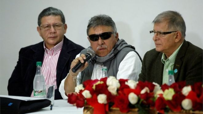 Colombian FARC leader arrested on drug trafficking charge