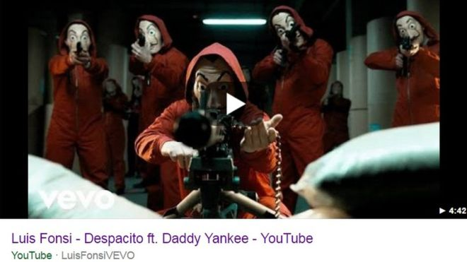 Despacito YouTube music video hacked plus other Vevo clips
