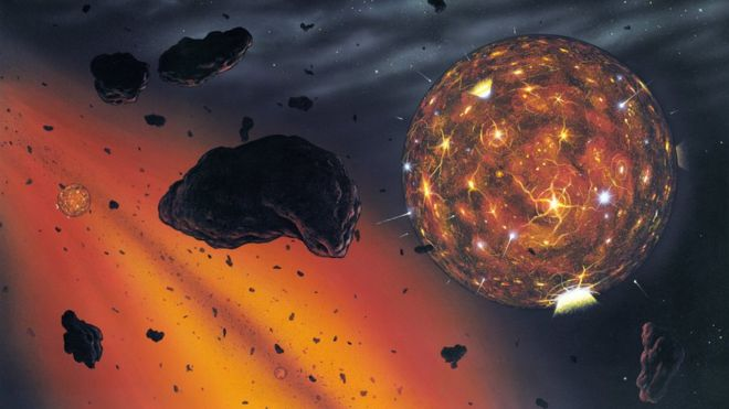 Bizarre new planet is largest known rocky world, 40 times as massive as Earth