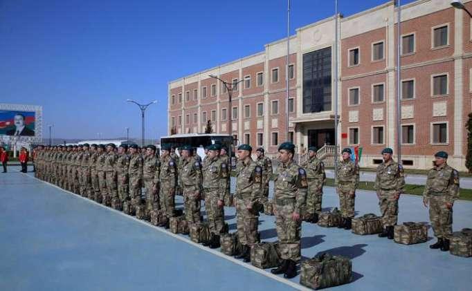 Mission en Afghanistan: Un groupe de casques bleus azerbaïdjanais regagne la Patrie