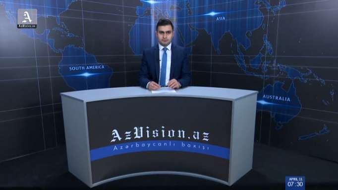 AzVision TV releases new edition of news in German for April 11- VIDEO