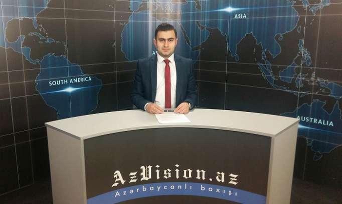 AzVision Nachrichten: Alman dilində günün əsas xəbərləri (19 aprel) - VİDEO
