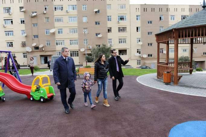 "Leyla Aliyeva attends opening ceremony of another redeveloped yard under ""Bizim həyət"" project - PHOTOS"