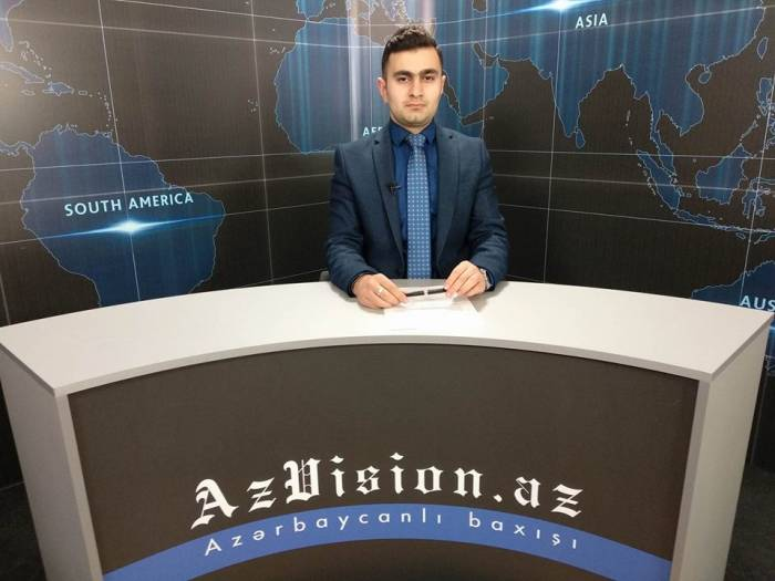 AzVision TV releases new edition of news in German for April 9-VIDEO