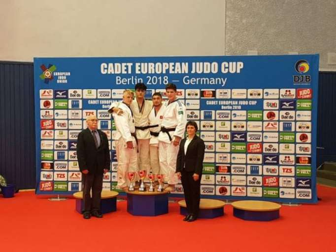 Azerbaijani judo fighters win two medals at EJU Cadet Training Camp