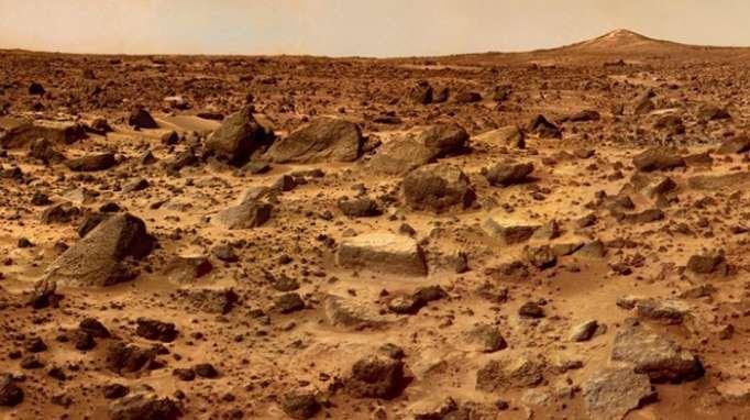 Sur Mars, des traces de gaz pouvant correspondre à un signe de vie détectées