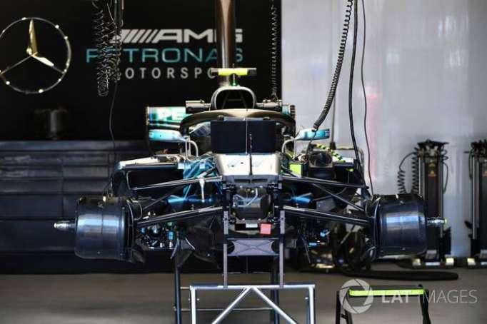 Mercedes introduce en Bakú soluciones provisionales