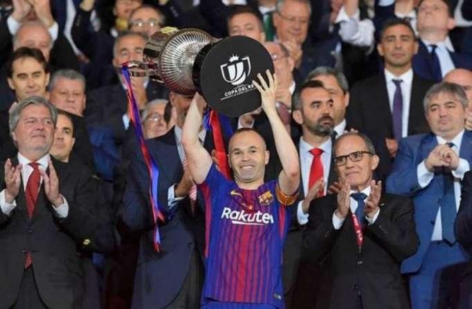 Barcelona hammer Sevilla 5-0 to win Copa del Rey