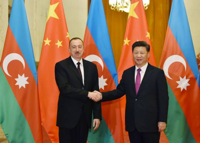 """""""Azərbaycanla münasibətlərin inkişafına əhəmiyyət verirəm"""" - Çin lideri"""