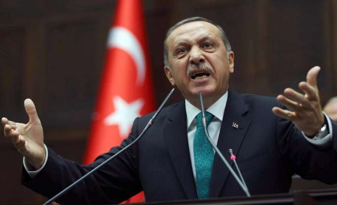 Erdogan accuse France of supporting terrorists