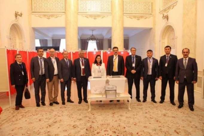 TURKPA mission monitors presidential election in Azerbaijan
