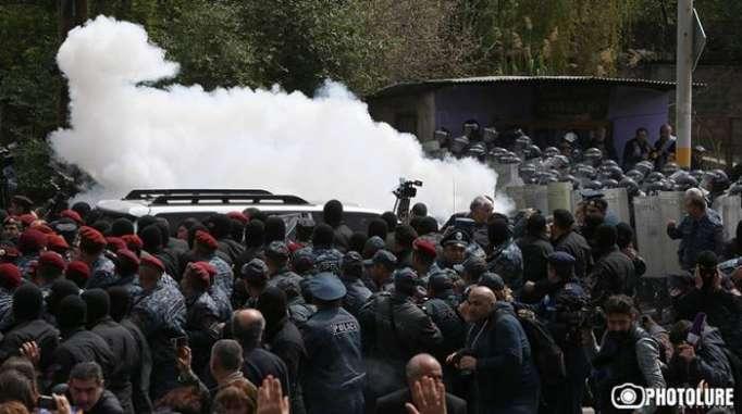 228 demonstrators detained in Yerevan
