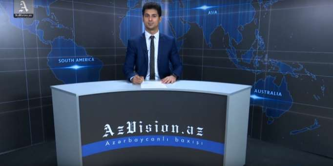 AzVision TV releases new edition of news in German for April 12-VIDEO