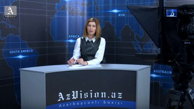 AzVision TV releases new edition of news in English for April 9 -VIDEO