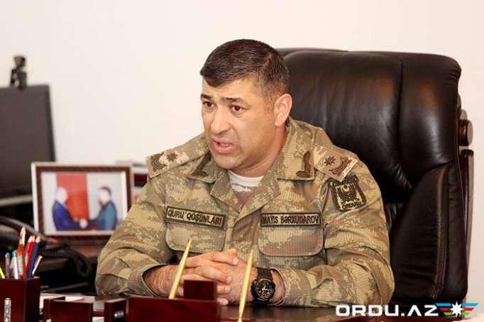 """General Mayis Bərxudarov: """"Lələtəpədən Zəngilana gedən yolu nəzarətdə saxlayırıq"""" (MÜSAHİBƏ)"""