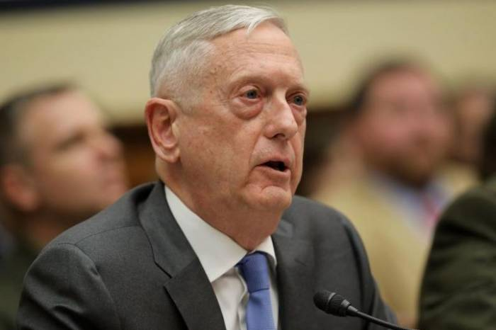 U.S. and China want to lessen tensions, reduce risks: Mattis