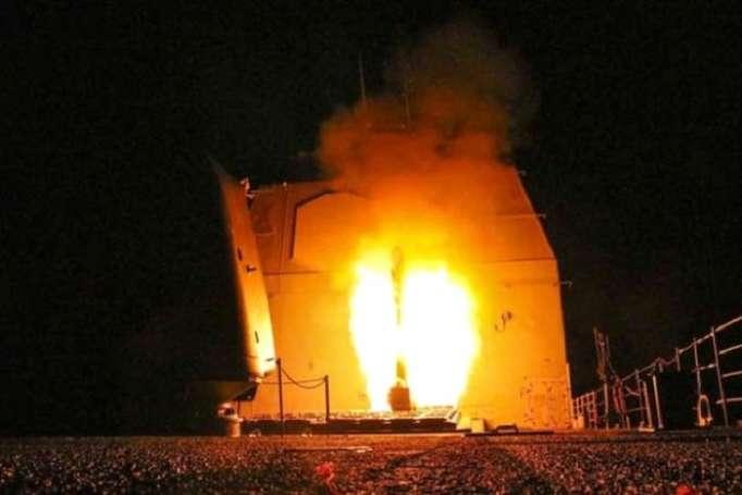 Suriyaya hücumun detalları: 105 raketlə 3 hədəf vurulub