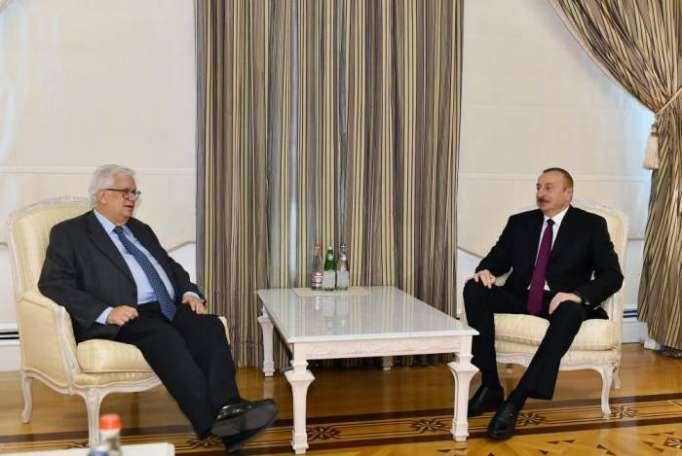 President Aliyev receives deputy secretary general of Centrist Democrat International