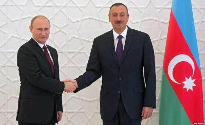 Vladimir Putin congratulates Ilham Aliyev on his birthday