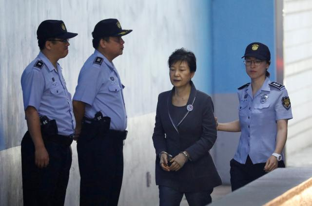 South Korea prosecutors say ousted Park unfairly avoided charges, appeal