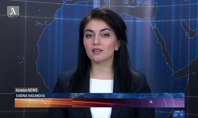 AzVision TV releases new edition of news in English for April 12- VIDEO