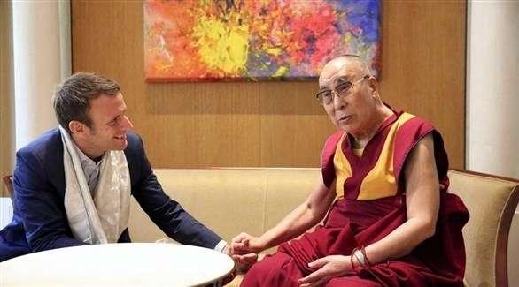 """ماكرون يرفض لقاء الدالاي لاما لتفادي """"أزمة"""" مع الصين"""
