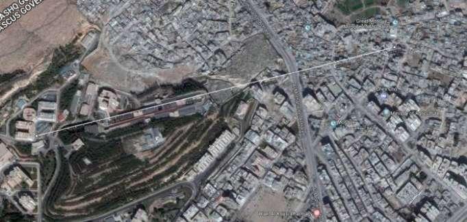 Los misiles occidentales redujeron a cenizas un centro farmacéutico sirio