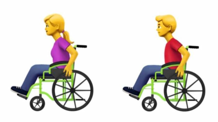 Apple proposes 13 new emojis to represent people with disabilities