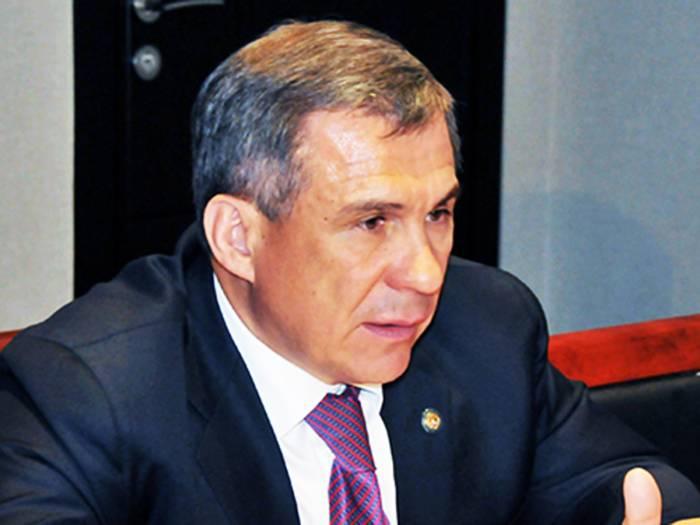 Tatarstan president: Azerbaijanis supported Ilham Aliyev's policy aimed at development